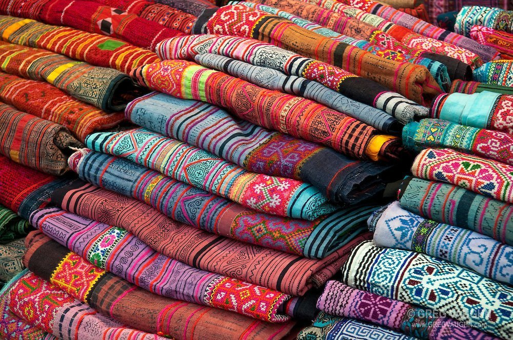 Thailand silk and silver of the city of surin in the heart for Cloth material for sale
